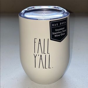 NEW Rae Dunn FALL Y'ALL. Wine Glass
